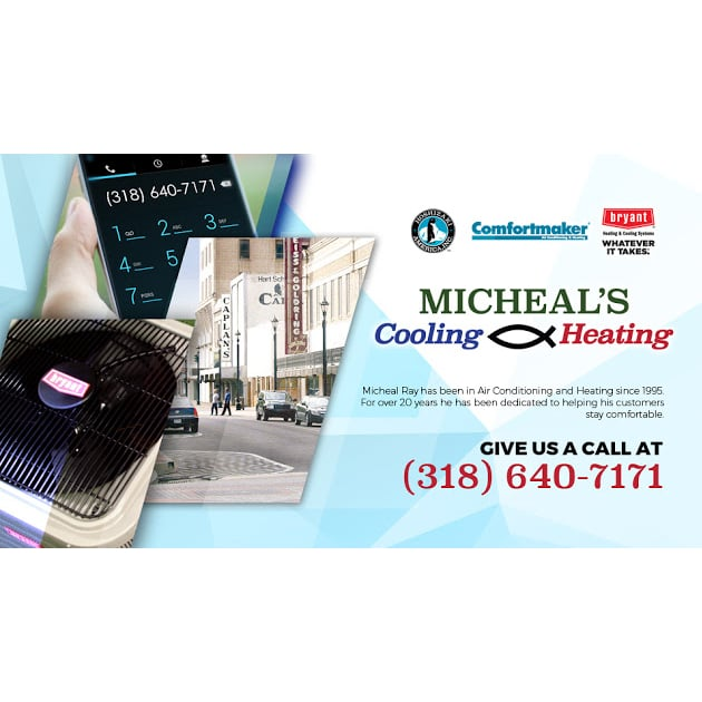 Micheal's Cooling And Heating: 4309 Shreveport Hwy, Pineville, LA