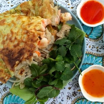 how to make vietnamese pancake crispy