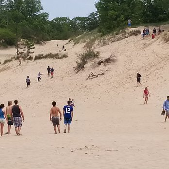 Photo Of Indiana Dunes State Park Chesterton In United States Devils Slide