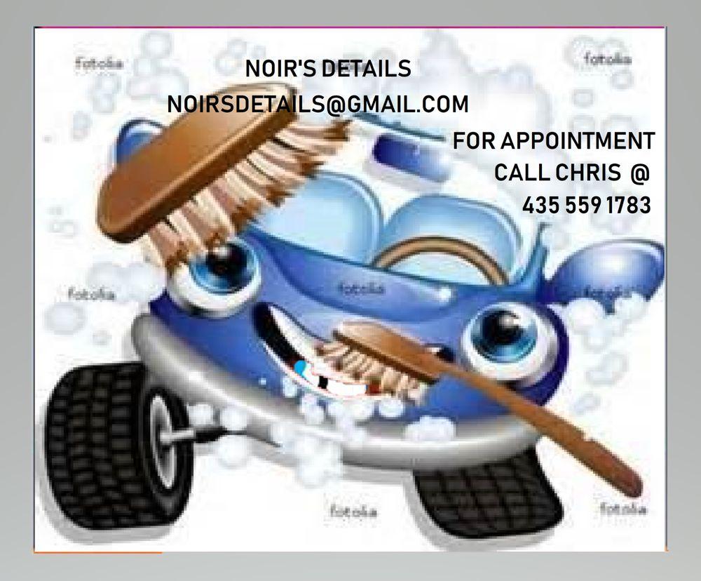 Noir's Mobile Detailing: 1184 Brook St, Cedar City, UT