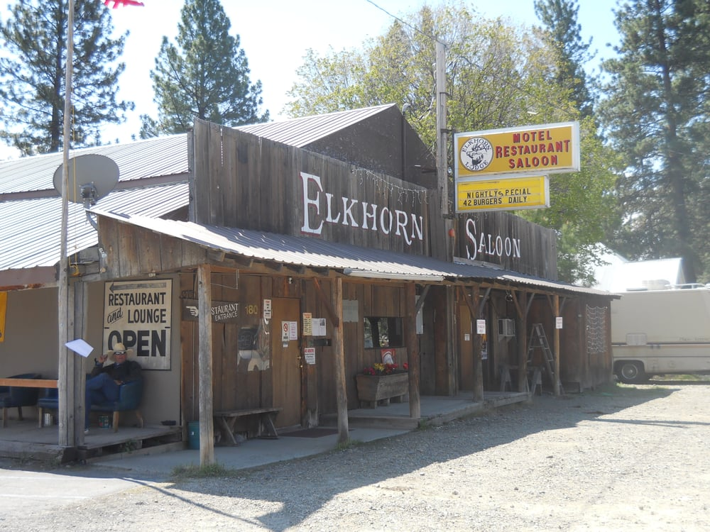 Elkhorn Saloon: 180 Mill St, Sumpter, OR