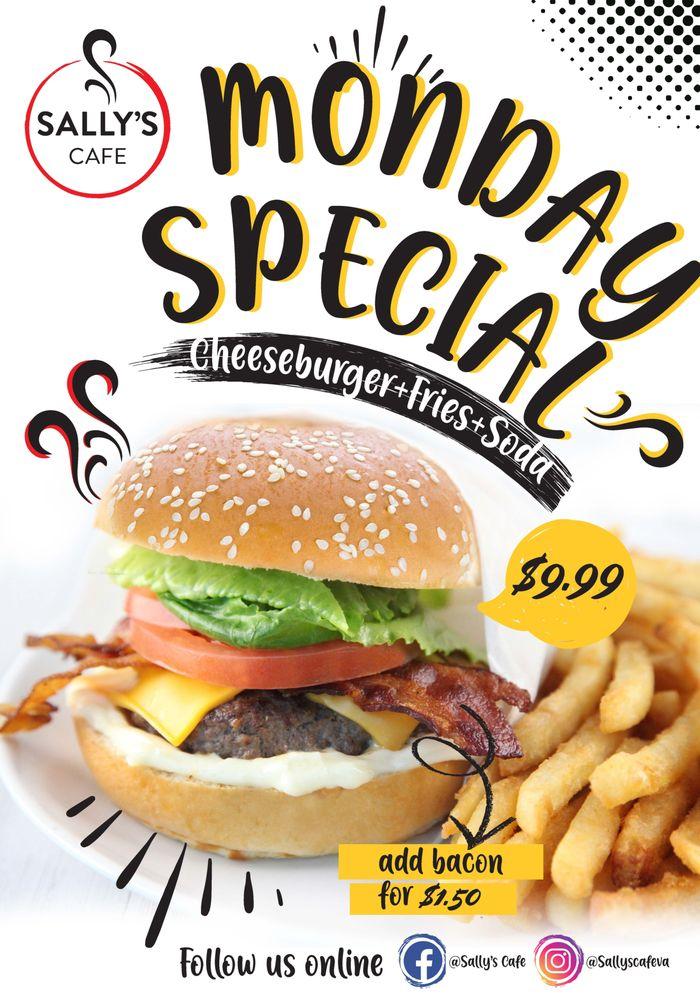 Sally's Cafe: 22365 Broderick Dr, Sterling, VA