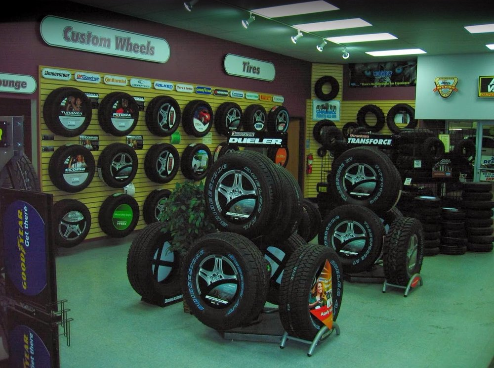 Myers For Tire-Auto Parts & Service: 801 E Cedar Ave, Gladwin, MI