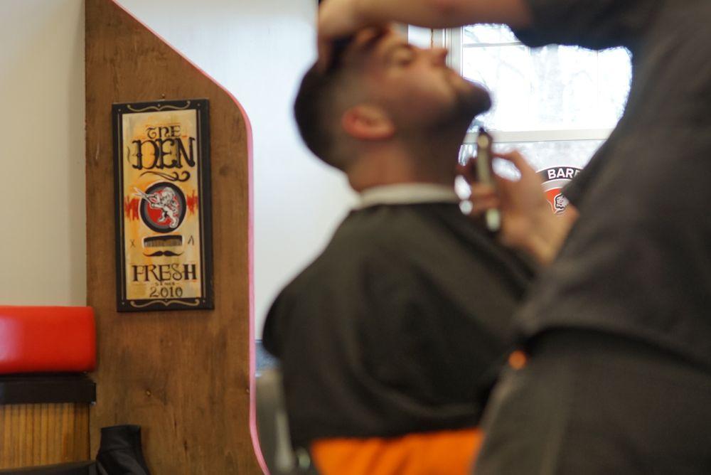 The Barber's Den: 448 Main St, Melrose, MA