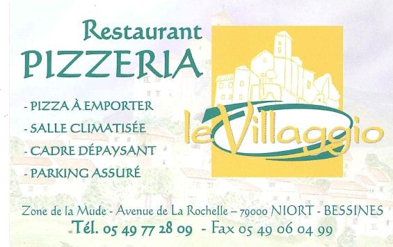 le villagio pizza avenue de la rochelle niort deux s vres frankrijk reviews restaurant. Black Bedroom Furniture Sets. Home Design Ideas