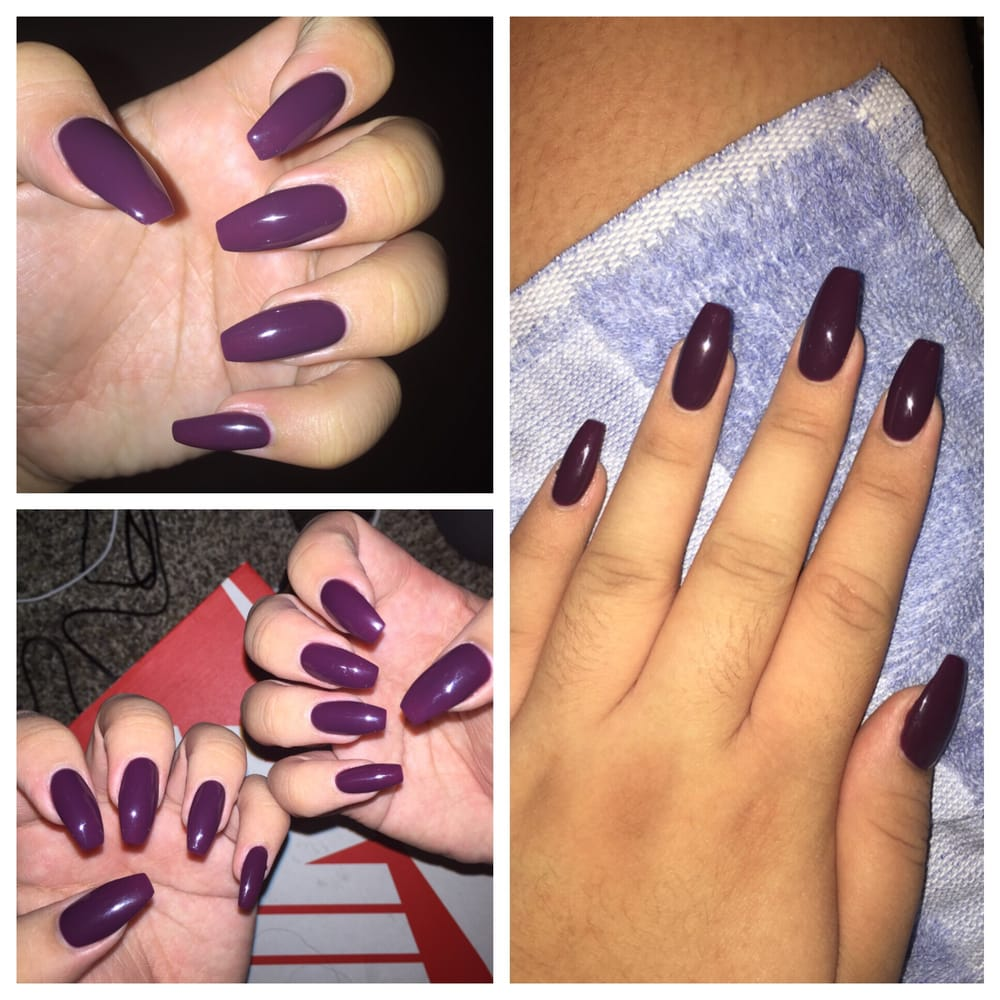 Went in for a fill had square nails before asked for coffin shape photo of bella vous nails spa rancho cucamonga ca united states went solutioingenieria Gallery
