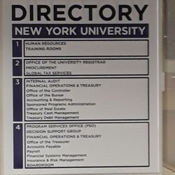 New York University School of Professional Studies - 7 E