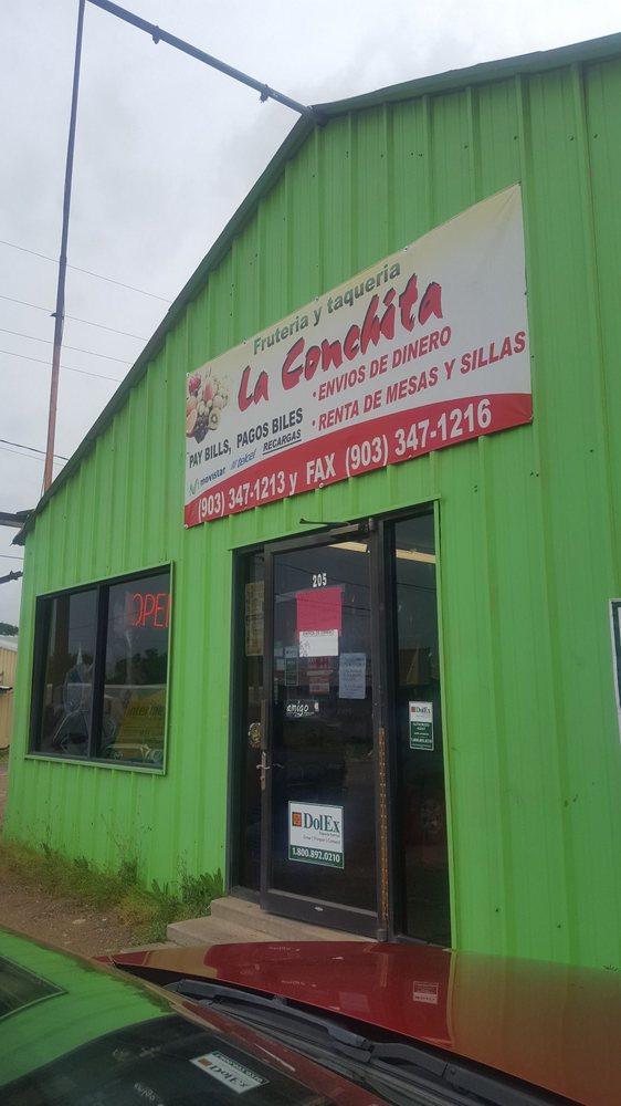 Fruteria Y Taqueria La Conchita: 205 N Walnut St, Winnsboro, TX