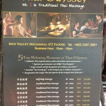 Thai Odyssey - Massage - Lingkaran Syed Putra, Kuala Lumpur