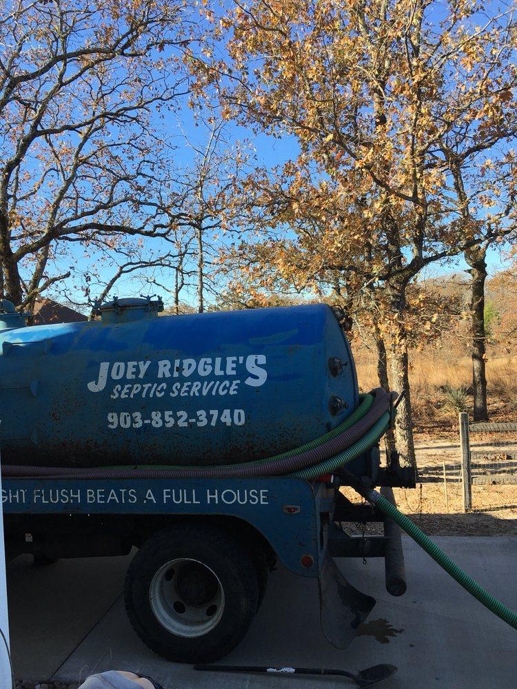 #1 Joey Ridgle Septic & Sanitation: 8675 State Highway 31 E, Murchison, TX