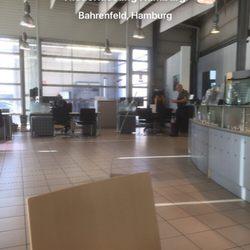 mercedes-benz niederlassung hamburg - autowerkstatt - bornkampsweg