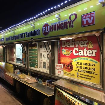 Ru Hungry Food Truck Menu