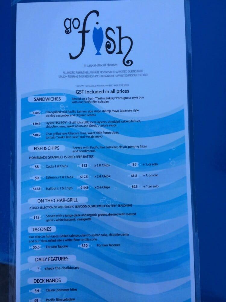 Menu yelp for Seven fishes menu