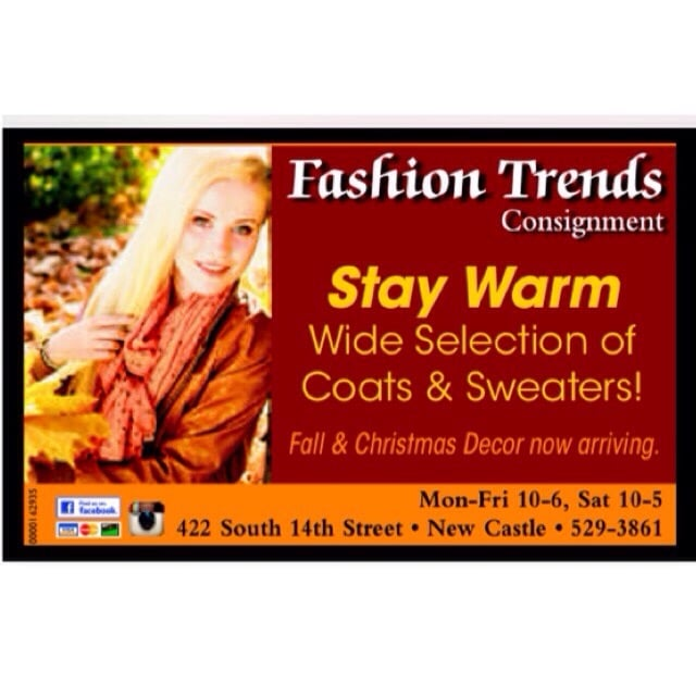 Fashion Trends Consignment: 422 S 14th St, New Castle, IN