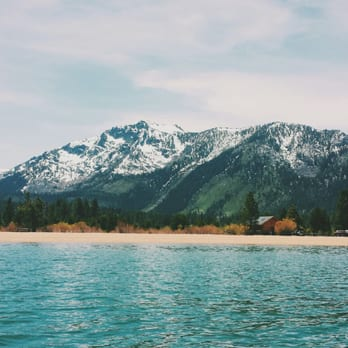 Photo Of Baldwin Beach South Lake Tahoe Ca United States View From