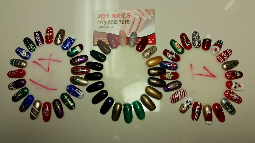 Beautiful Nails designs at Joy Nails getting ready for the happy ...