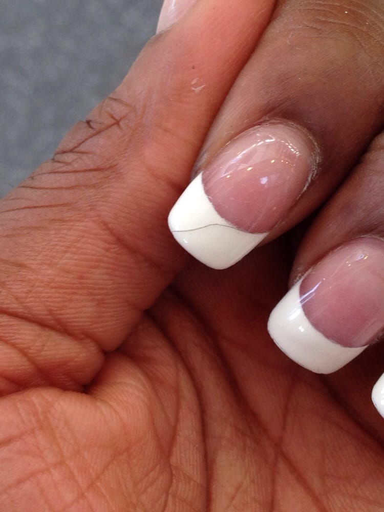 Cracked gel nails! - Yelp