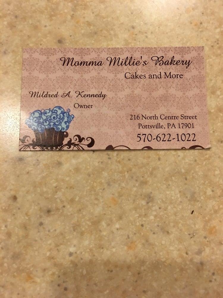 Momma Millies Bakery: 216 N Ctr St, Pottsville, PA