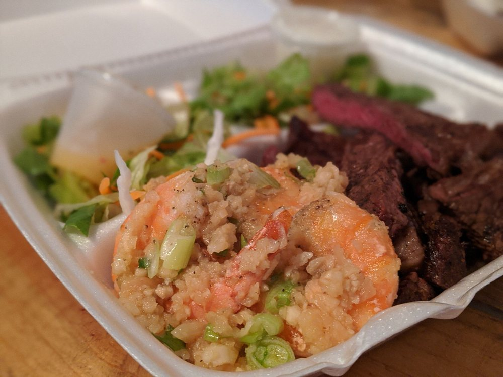 Food from Big Aloha's Ali'i Cove