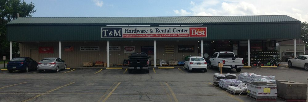 T & M Hardware & Rental: 193 E Taggart St, East Palestine, OH
