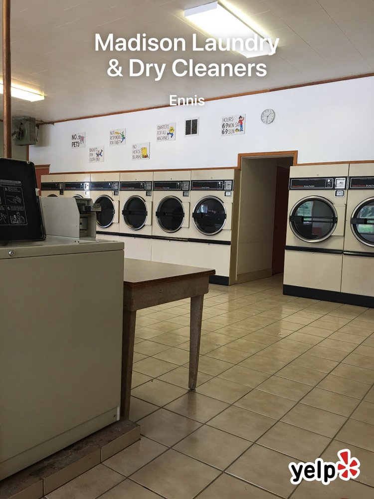 Madison Laundry & Dry Cleaners: 63 Montana Way, Ennis, MT