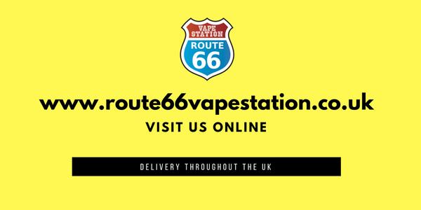 Photo of Route 66 Vape Station - Bromley, London, United Kingdom. www.