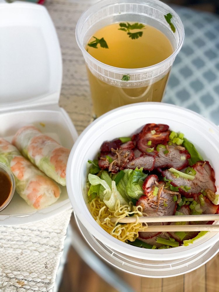 Food from Pho Tan My