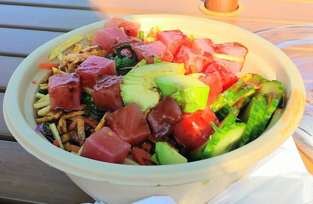 Photo of YeSake - Orlando, FL, United States. Poke tuna, delicious