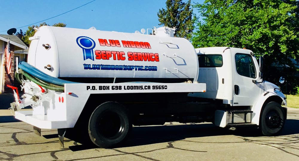 Blue Ribbon Septic Service: Loomis, CA