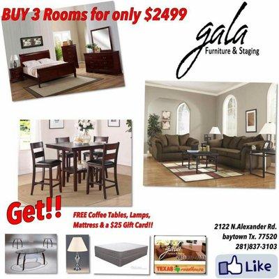 Gala Furniture Staging 2122 N Alexander Dr Baytown Tx Furniture