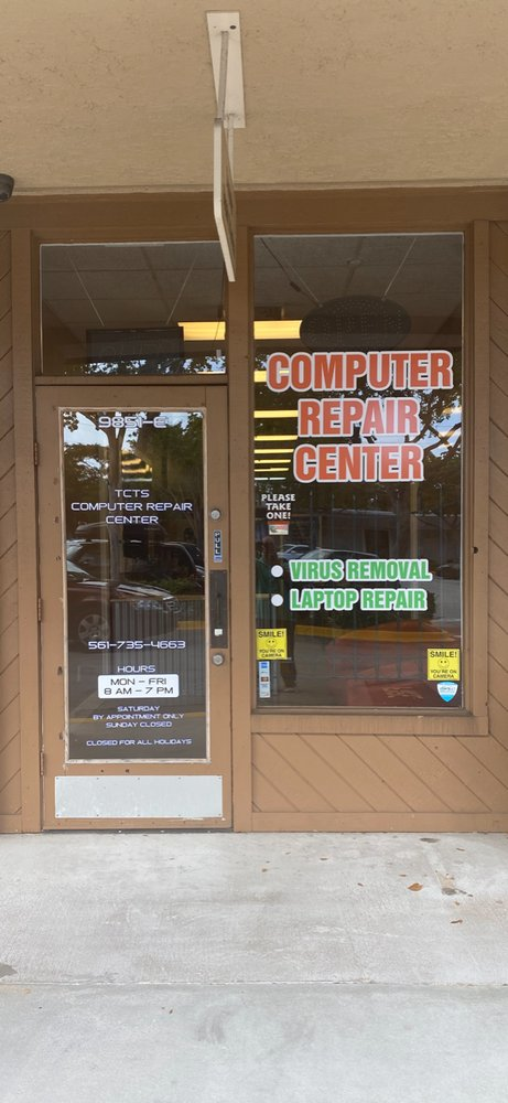 TCTS Computer Repair Center: 9851 S Military Trl, Boynton Beach, FL