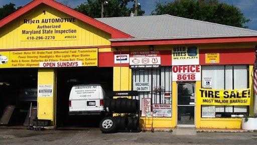 Uhaul truck rental towson md