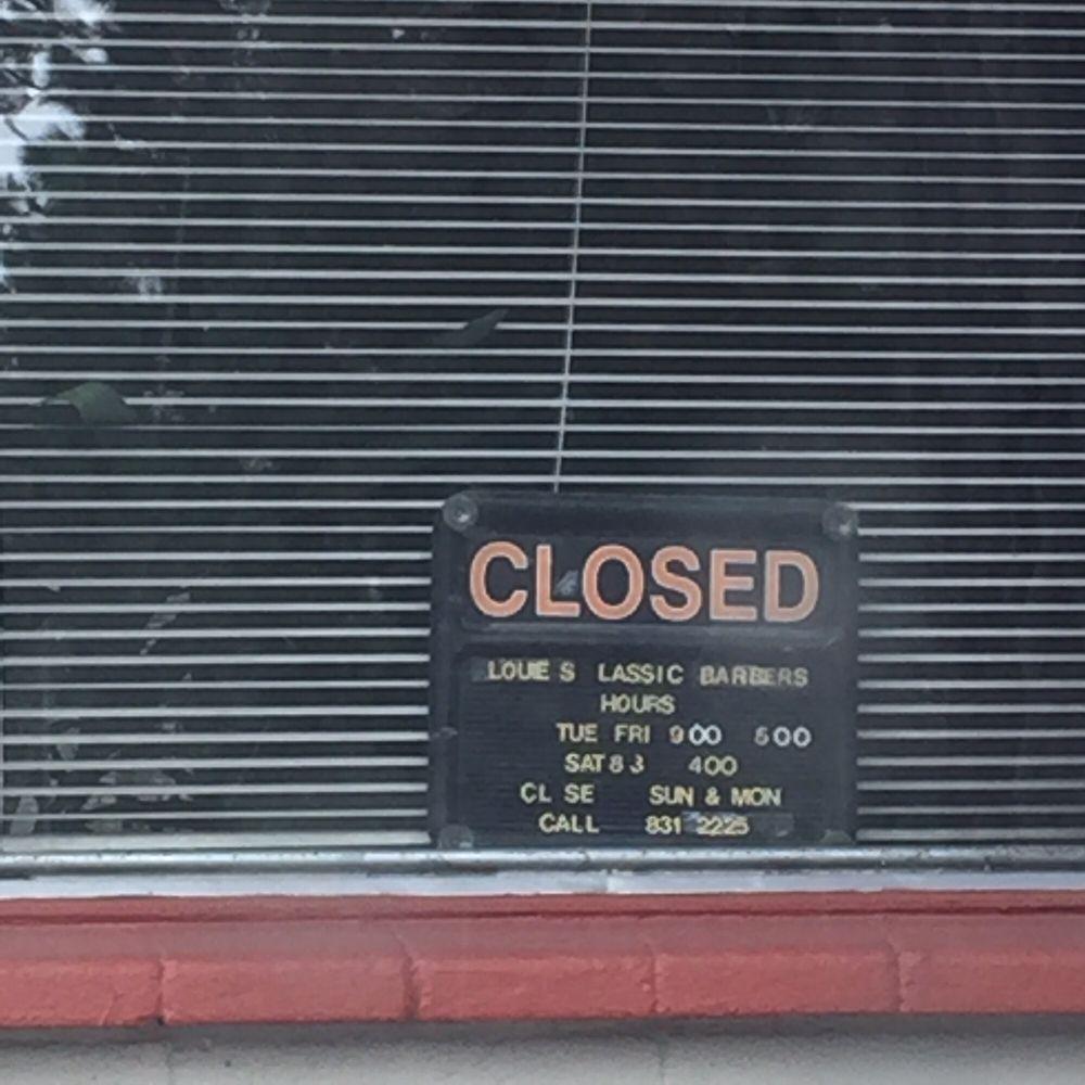 Louie's Classic Barbers: 218 E Enterprise St, Incline Village, NV