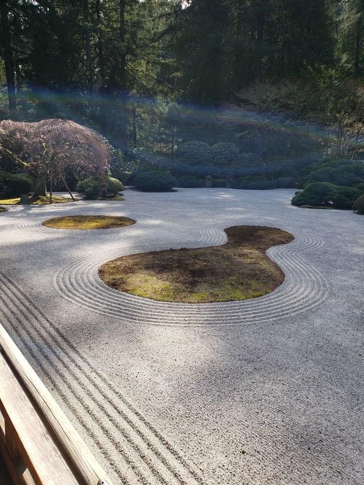 Portland Japanese Garden: 611 SW Kingston Ave, Portland, OR