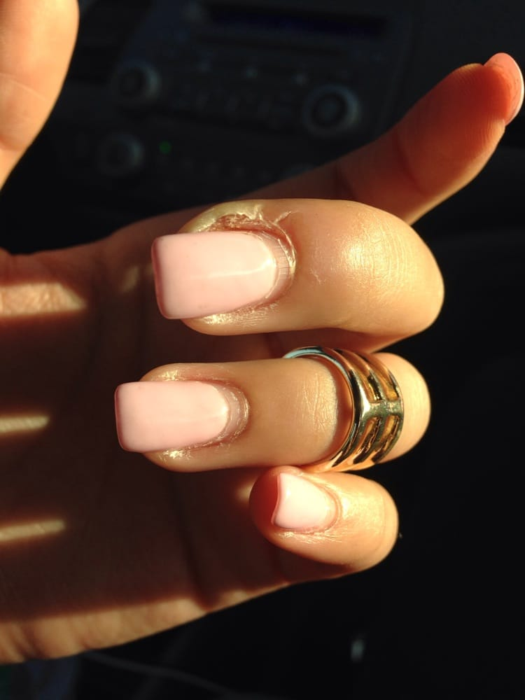 Infected cuticle from my cuts - Yelp