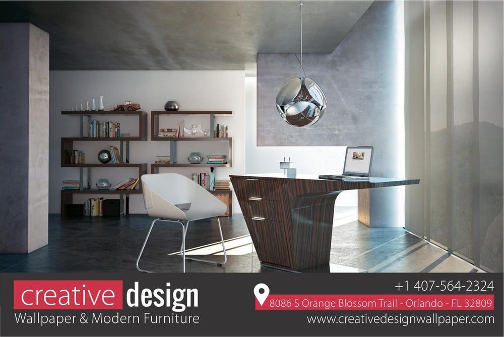 Creative Design Wallpaper: 8086 Orange Blossom Trl, Orlando, FL