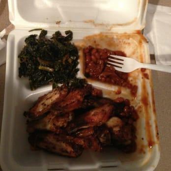 Ebony and ivory barbecue