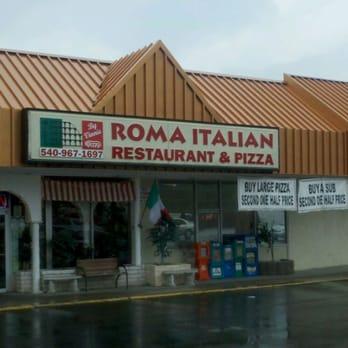 Roma Italian Restaurant Pizza Louisa Va