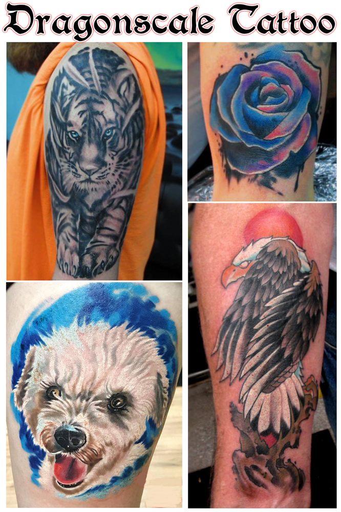 Dragonscale Tattoo: 101 S Main St, Davidsville, PA