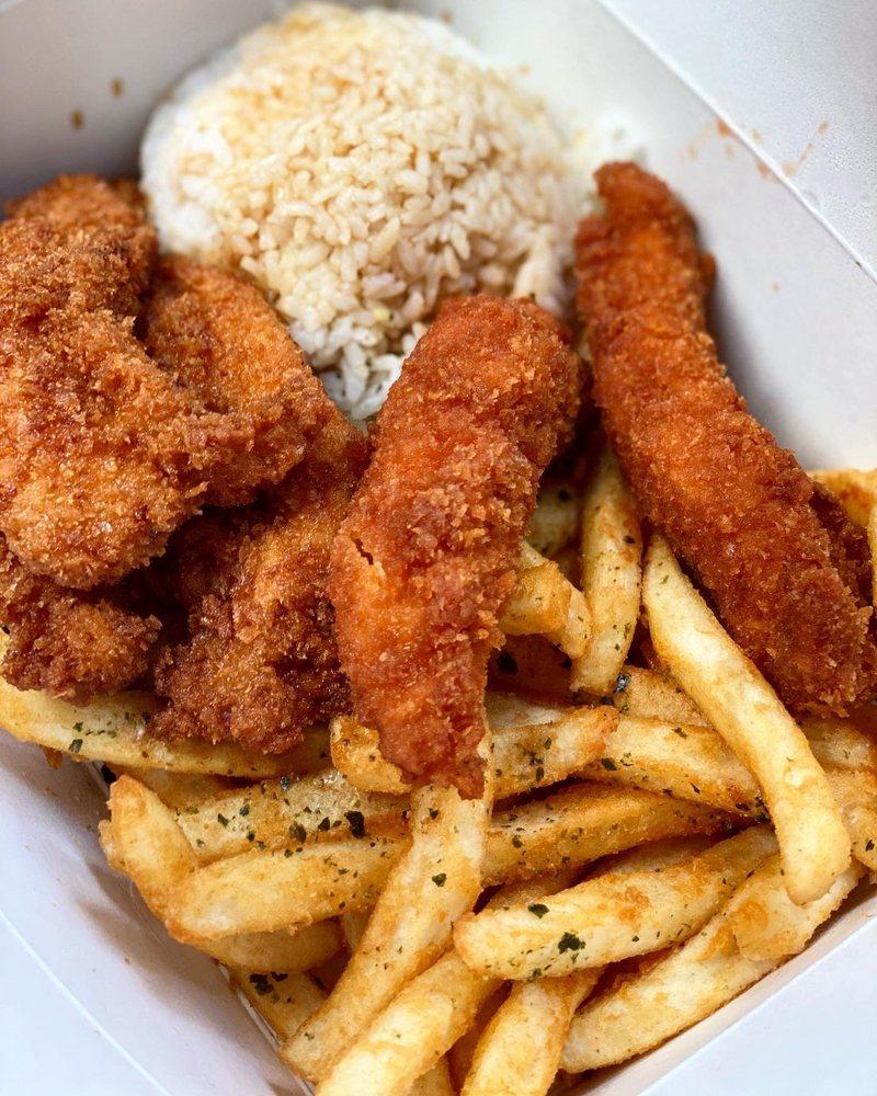 Food from Ponko Chicken