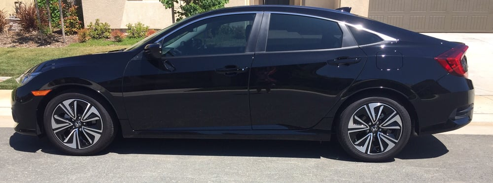 Window Tinting Sacramento >> 35% front windows and 20% rear windows on a 2016 Honda civic - Yelp