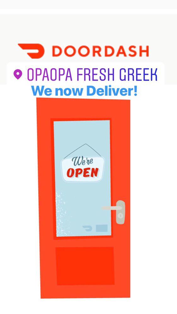 Food from OpaOpa Fresh Greek