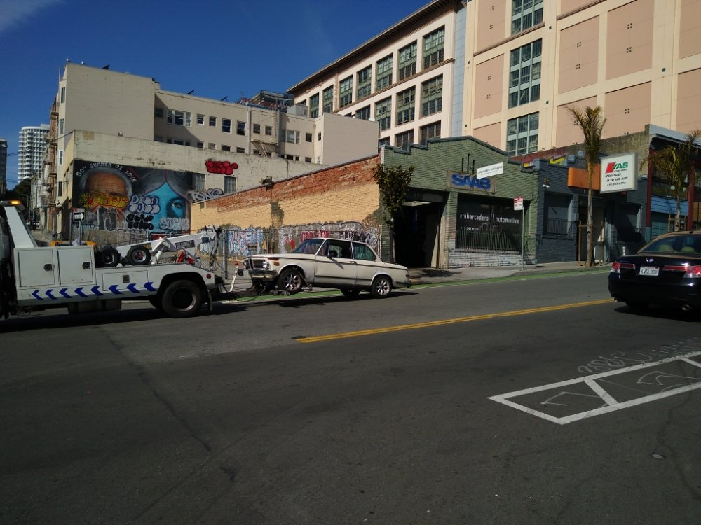 Towing business in South San Francisco, CA