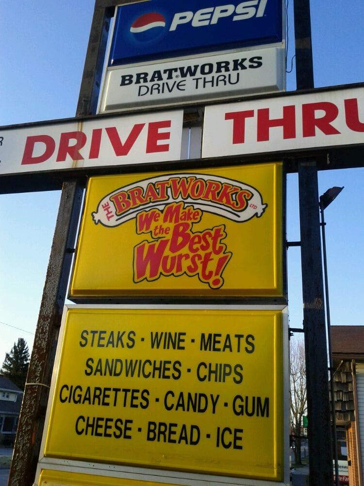 Bratworks: 574 S Sandusky Ave, Bucyrus, OH