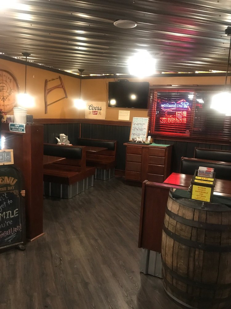 Timberland Bar and Grill: 20991 County Road H, Barronett, WI