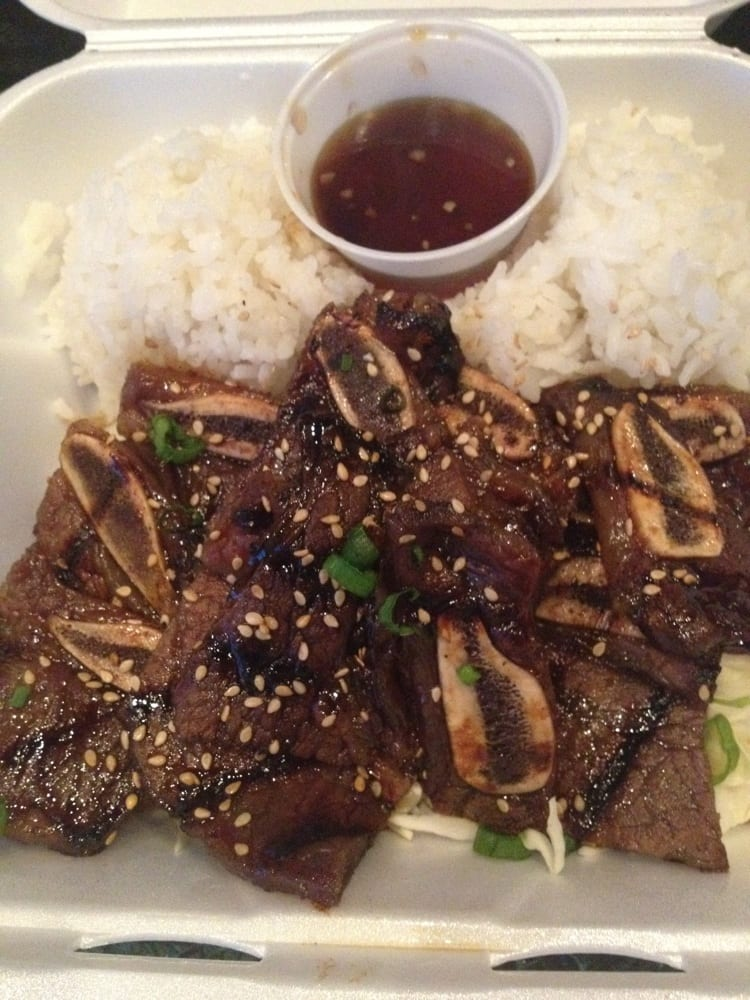 Kalbi ribs and rice - Yelp