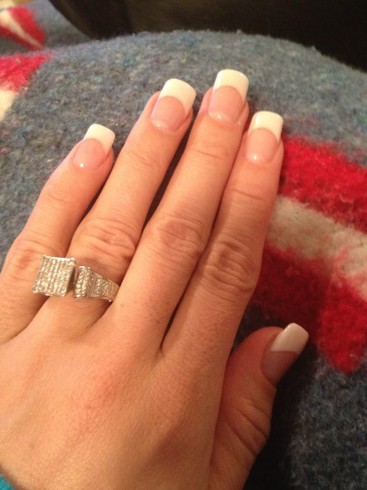 Had Linda do my nails yesterday! Out in an hour , French tip solar ...