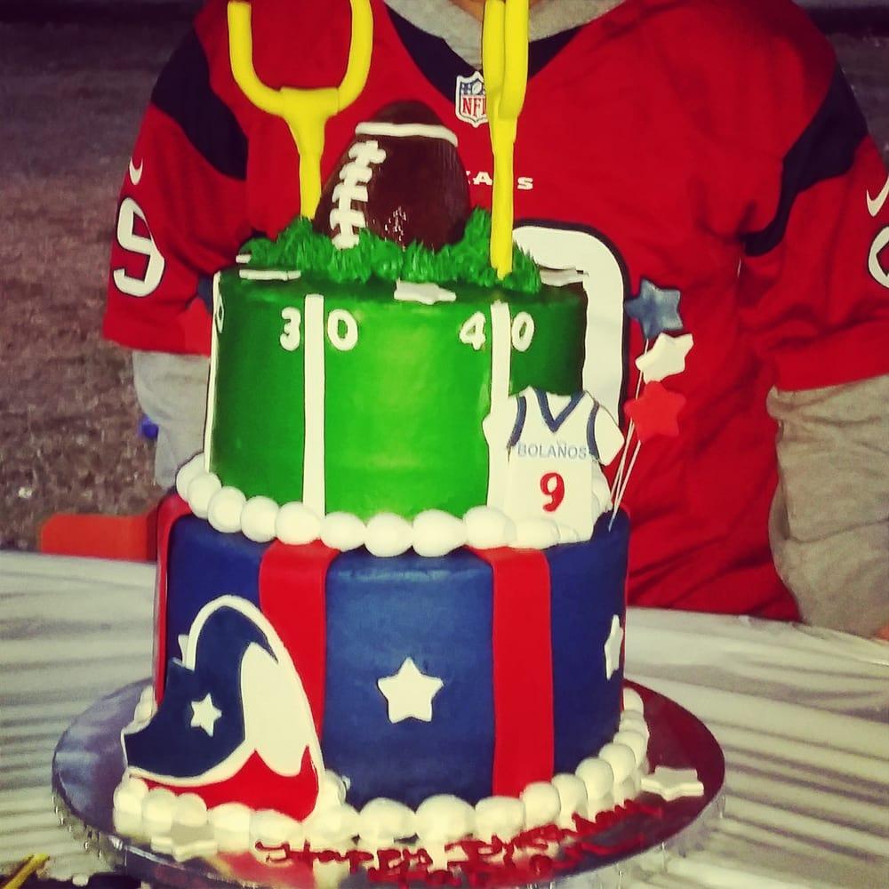 Football Cake Red Velvet And Chocolate 300 Yelp