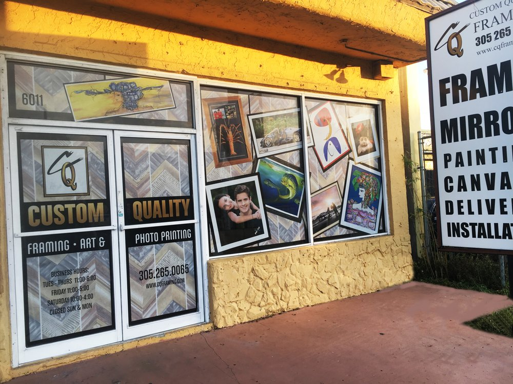 Custom Quality Picture Framing: 6011 SW 8th St, West Miami, FL