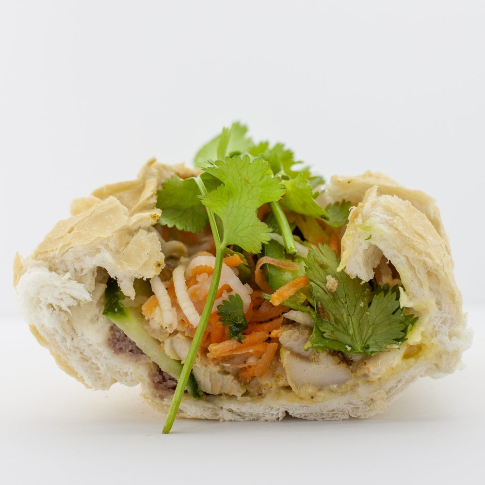 Food from The Banh Mi Shop